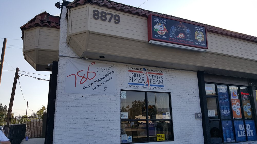 786 Degrees Wood Fired Pizza Co